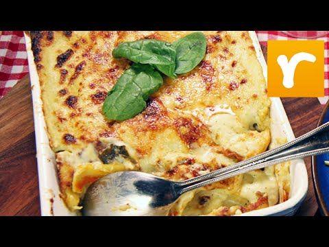 Mitt kök i TV4 från 2014-09-27: Donal Skehan bjuder på italiensk mat i form av cannelloni med en pestobechamelsås. Receptet hittar du här: http://www.recept....