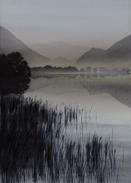 LANDSCAPES - NAOMI TYDEMAN RI #watercolor jd