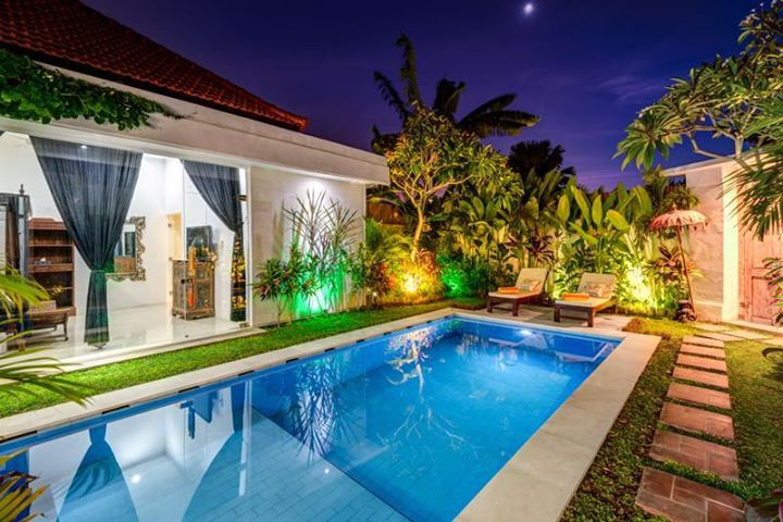 3 bedroom villa seminyak start from 275 $ per night walking distance to beach shops and trendy restaurants