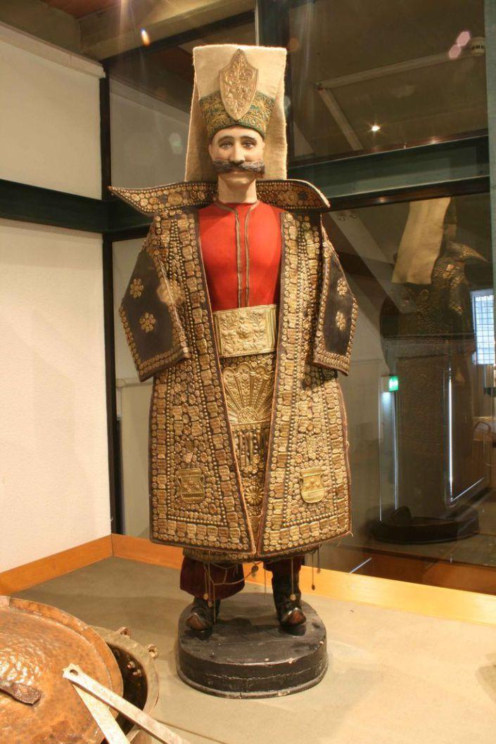Vêtement d'un Janissaire Ottoman