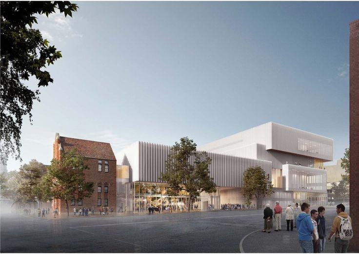 Galería de OMA + HASSELL revelan diseño del nuevo Museo de Australia Occidental…