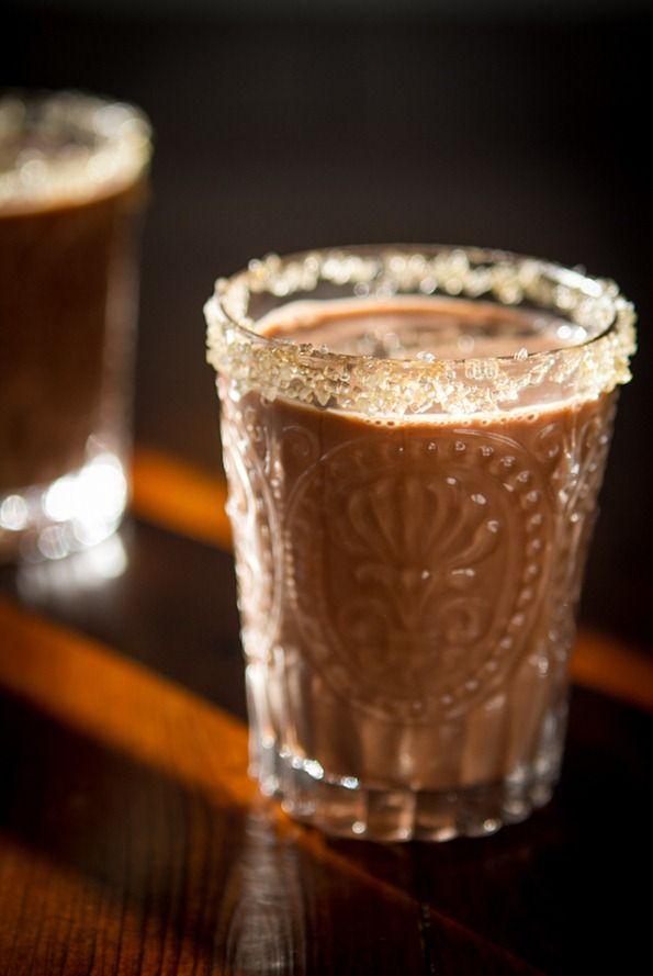 Ultra Creamy Mocha Hot Cocoa...refined sugar-free & vegan.