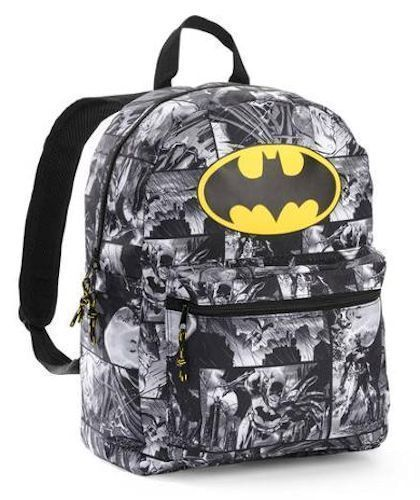Batman Backpack Kids School Bag DC COMICS Print School Supplies KAWAII URBAN NEW #DCCOMICS #Backpack