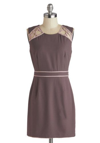 Mocha Mornings Dress, #ModCloth