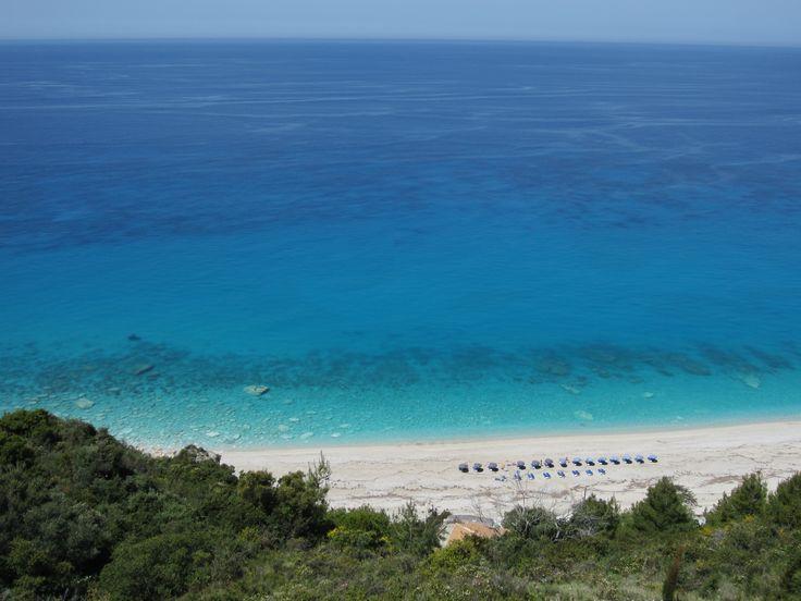 Kathisma Bay Villas: overlooking the gorgeous Kathisma beach, Lefkada, Greece