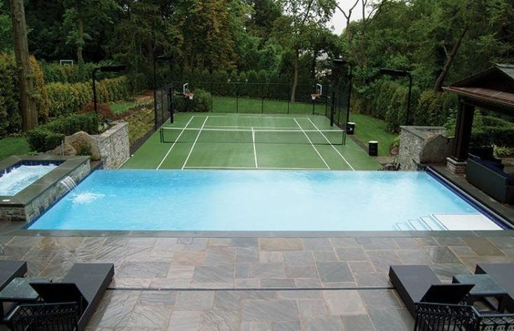 20 des terrains de tennis les plus attrayants à la maison