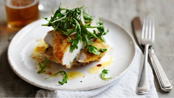 Escalope of chicken with rocket, sage and lemon |      This is an impressive meal that's as easy on your wallet as it is your waistline.