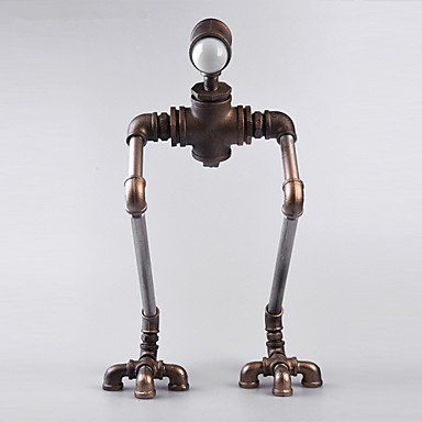Ca New Robot Light Modern Handmade Industrial Vintage