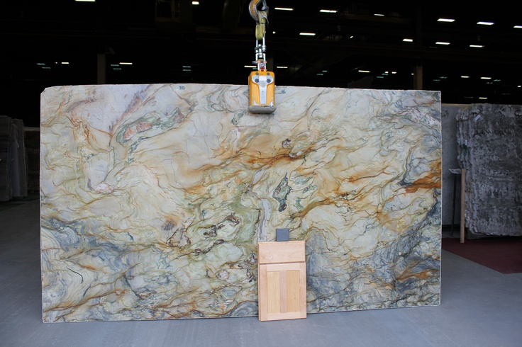 Fusion granite slab