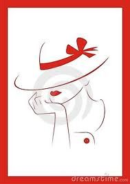 women in hats clip art - Google Search