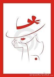 women in hats clip art - Google Search