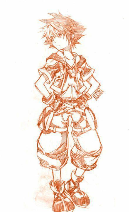 Sora.    I didn't draw this. I found it on here :)  Artist: EMO? (If I'm reading the artist signature correctly.)
