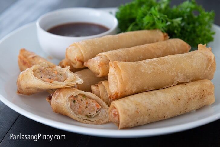Longanisa Lumpiang Shanghai Panlasang Pinoy Recipe Longanisa Sweet And Sour Sauces Food
