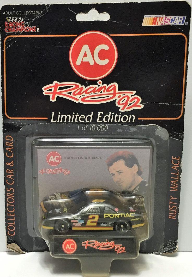 (TAS034289) - 1992 Racing Champions NASCAR Racing '92 Series - Rusty Wallace
