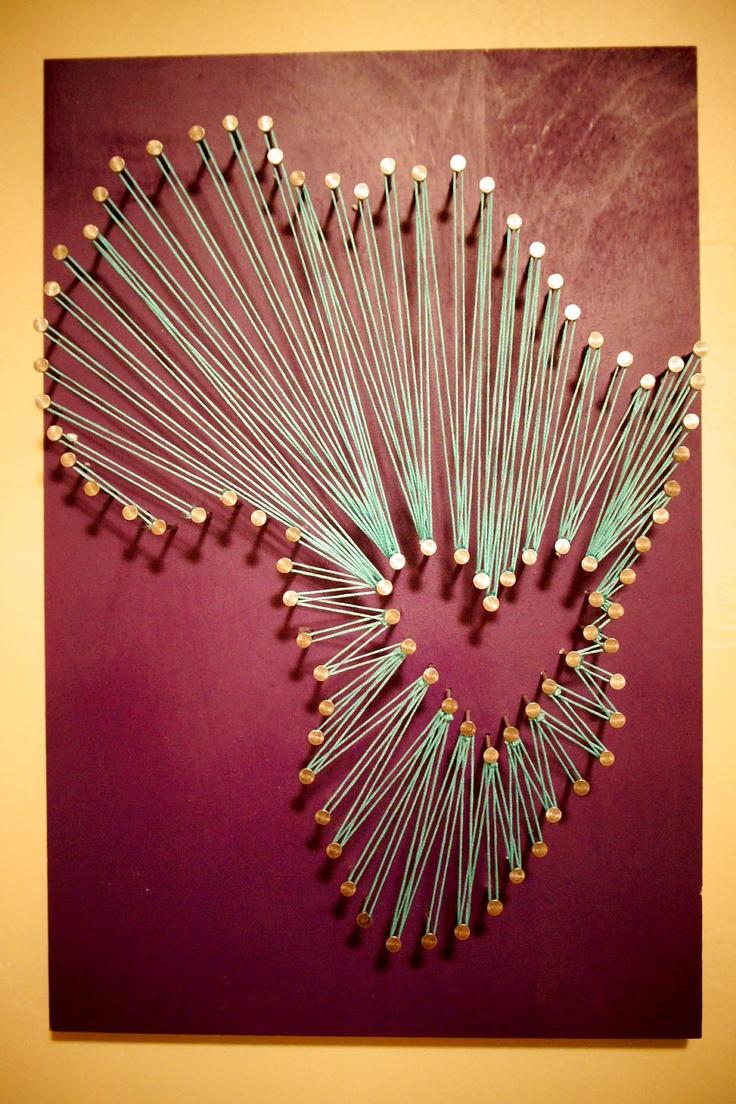 394 best images about string art on pinterest nail. Black Bedroom Furniture Sets. Home Design Ideas