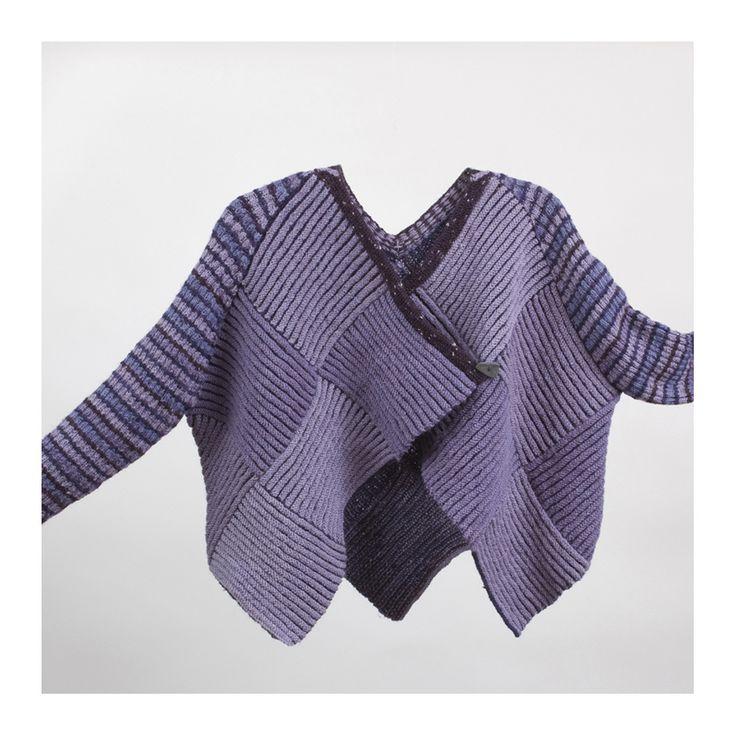 www.alisonellenhandknits.co.uk. Alison Ellen Hand Knitwear zelf maken van vierkante stukken van wollen truien