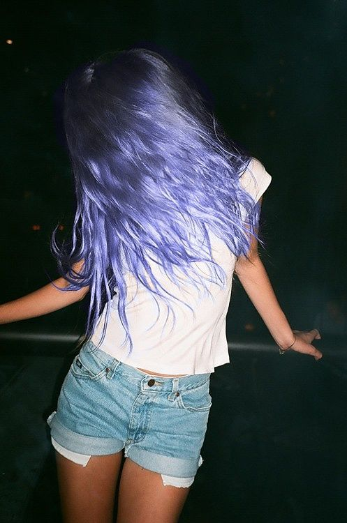 Pretty much a mermaid with indigo hair. It's sooooo pretty