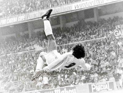 Hugo Sanchez en su famosa Chilena !!!