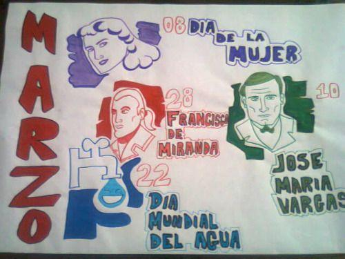 IMAGEN DE efemerides del mes de marzo en venezuela - Buscar con Google