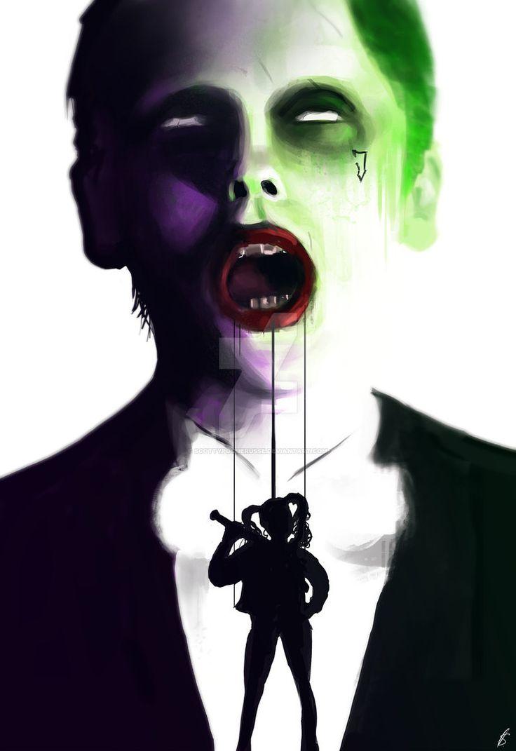 The Joker - Suicide Squad by ScottyPoquerusse   Suicide ...
