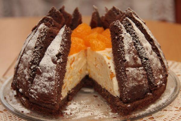 Mandarínková torta Kilimandžáro - Recept pre každého kuchára, množstvo receptov pre pečenie a varenie. Recepty pre chutný život. Slovenské jedlá a medzinárodná kuchyňa