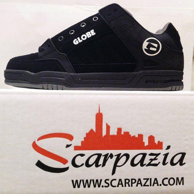 By @scarpazia http://www.scarpazia.com Scarpe Globe TILT Black Black