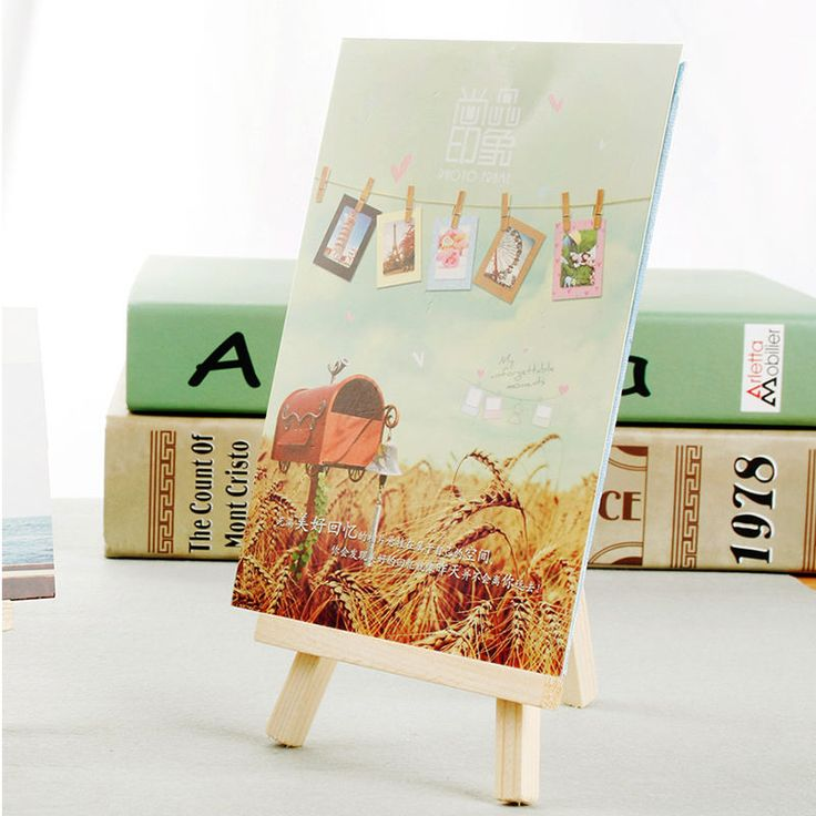 1-10PCS Wooden Artist Mini Easel Stand Painting Canvas Craft Exhibit Display