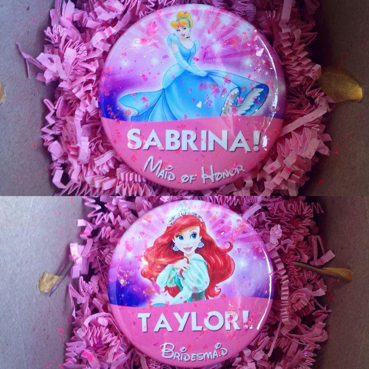 Disney Pin Bridesmaid Proposals | Disney Wedding | Walt Disney World Pin | So This Is Love Blog