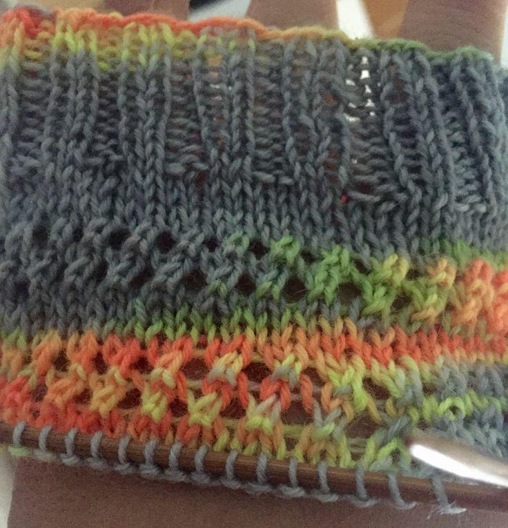 The 437 best Sock knitting patterns images on Pinterest | Knit socks ...
