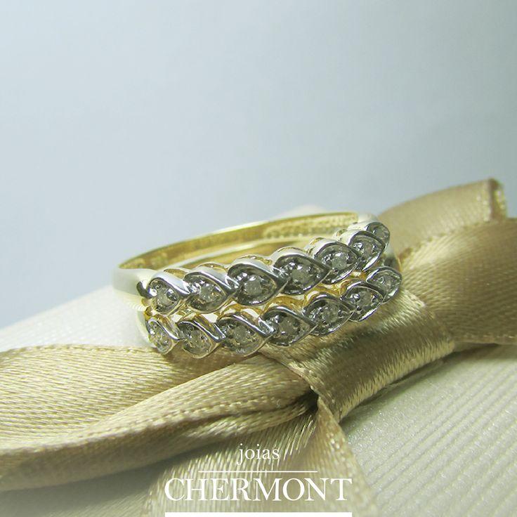 Já conhece nossa coleção de anéis? Acesse nosso painel no Pinterest e confira! http://www.pinterest.com/joiaschermont/anéis/