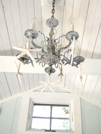 easy diy beach chandelier ideas