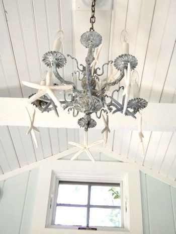 Easy DIY Beach Chandelier Ideas.