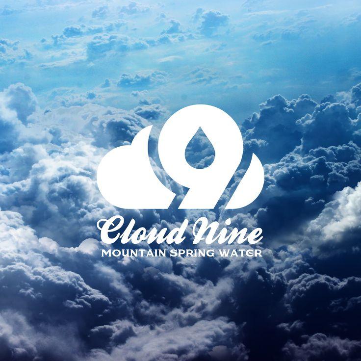 Branding. Logo. Corporate Identity. Branding & logo design for 'Cloud 9 Spring Water.' By brandishgraphics.com