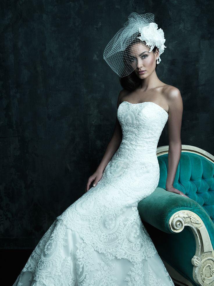 102 best Allure Bridal Gowns images on Pinterest | Short wedding ...
