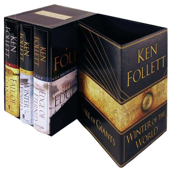 The Century Trilogy Boxed Set by Ken Follett: Signed Edition