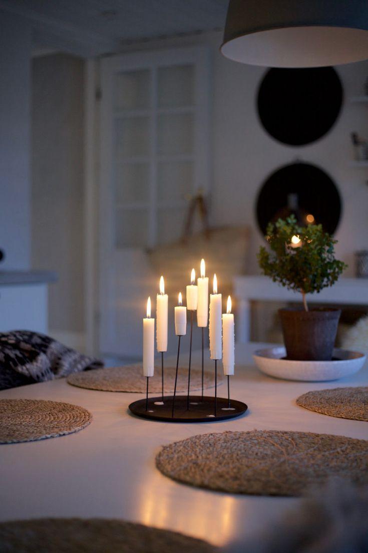 multi candle pin / Uusi Kuu -blogi