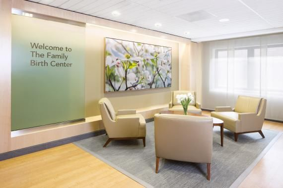 PHOTO TOUR: Park Nicollet Family Birth Center   Healthcare Design -- The Family Birth Center is located on the third floor of Methodist Hospital. Artwork throughout the center was chosen to provide a soothing connection to nature. Photo: (c)AECOM/Robb Williamson.