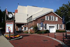 Paper Mill Playhouse entrance.jpg Millburn NJ