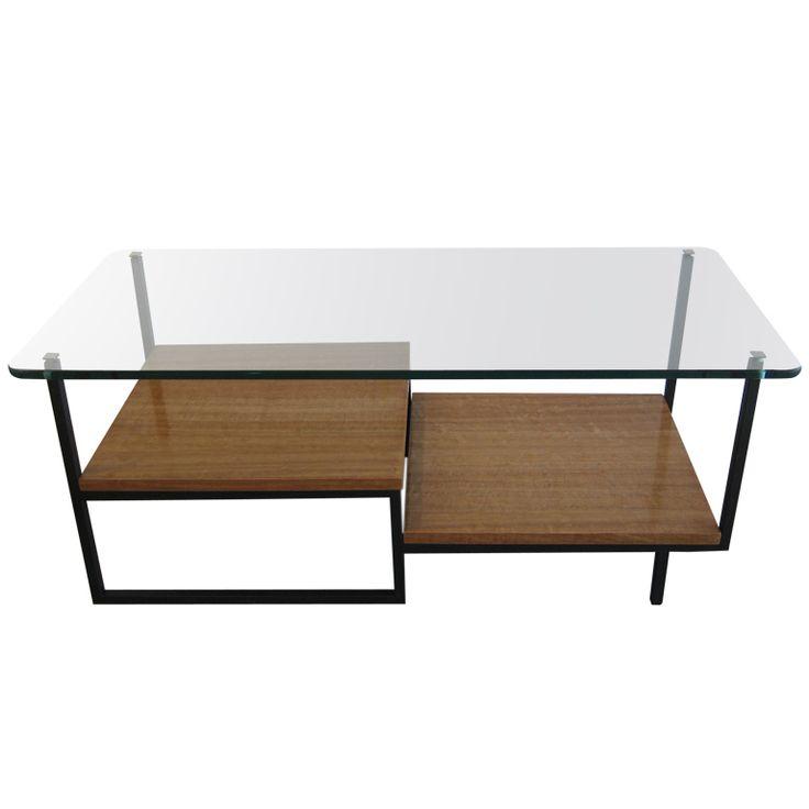 Asymmetrical Low Table By Georges Frydman