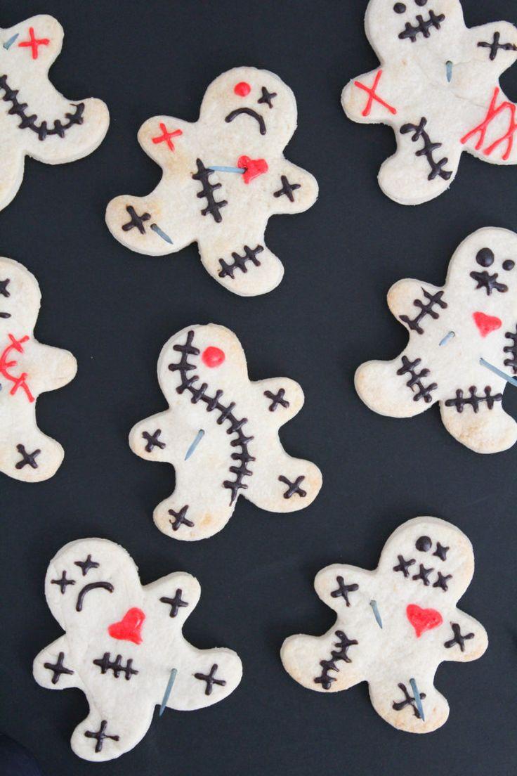 Voodoo Doll Halloween Cookies