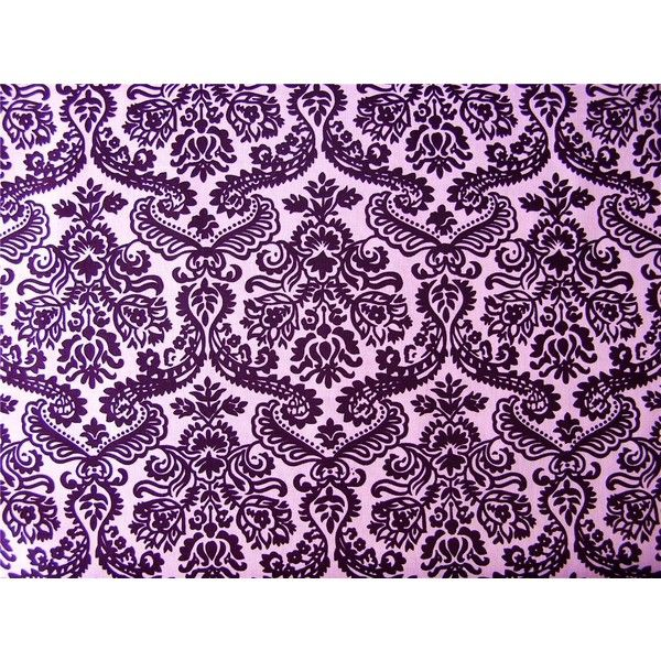 Purple Damask liked on Polyvore featuring backgrounds и