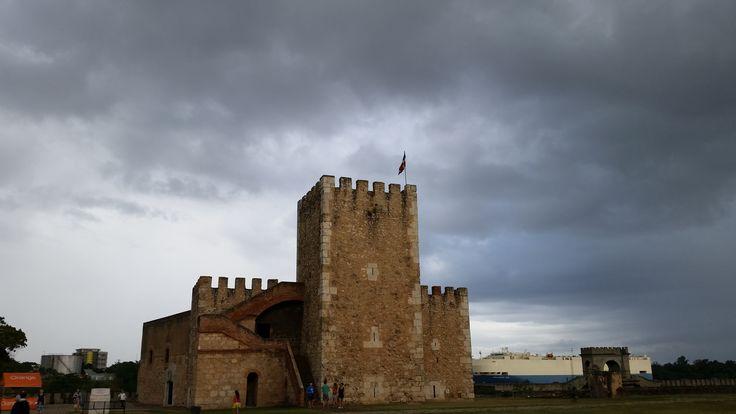 Fortaleza de Ozama en Santo Domingo (República Dominicana)
