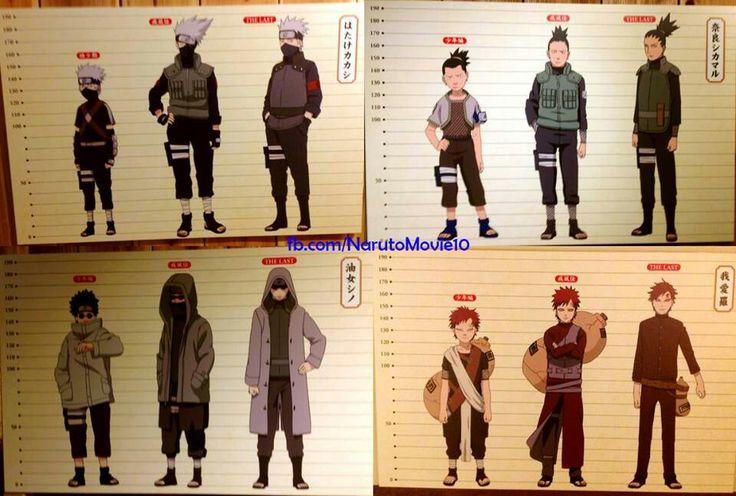 Naruto Character Change Part 2