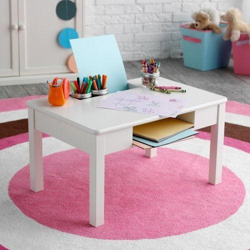 Classic Playtime Floor Desk - Vanilla