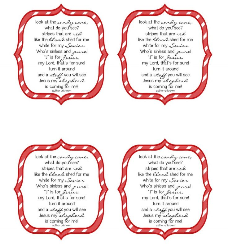 image relating to Candy Cane Poem Printable named Xmas poems of sweet canes