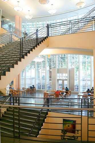 design Shields library courtyard