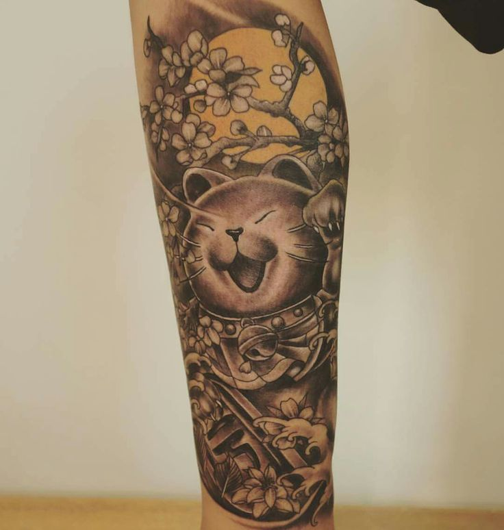 17 best ideas about maneki neko tattoo on pinterest for Ink craft tattoo