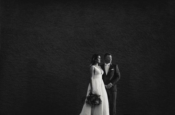 Our stunning bride Melanie with her groom, Rob. Captured in breathtaking photographs by @ellenitoumpasphotography #love #happy #bridalstyle #bridestory #weddingday #weddingtime #wedding #weddingideas #bride #bridal #bridallook #bridetobe #amalinevitale #avbride #realbride