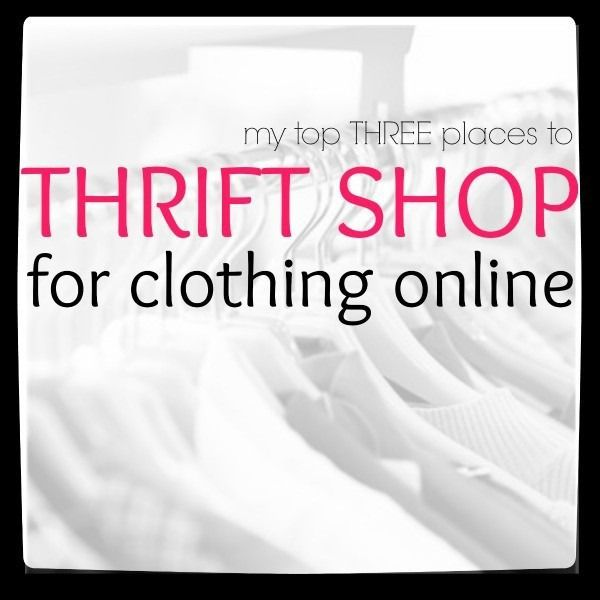 Online thrift store clothes