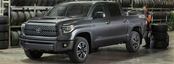 Gray 2018 Toyota Tundra TRD Sport in Service Center